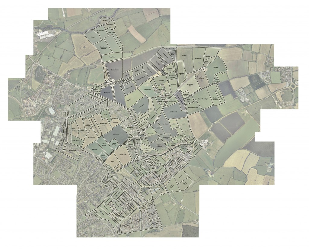 Hilperton & Paxcoft Field Map